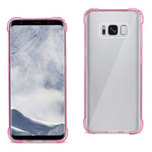 Reiko Samsung Galaxy S8 Edge/ S8 Plus Clear Bumper Case With Air Cushion... - $8.09