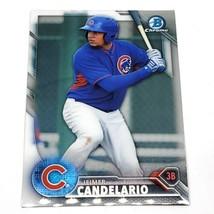Mlb Jeimer Candelario Chicago Cubs 2016 Bowman Chrome Baseball #BCP127 Nmnt - $1.07