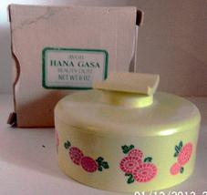Vintage Avon Hana Gasa Beauty Dust Container in Original Box - $12.00