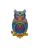 """Unidragon Wooden Jigsaw Puzzles """"Charming Owl"""" Wooden Puzzles for Adults - $59.99"""