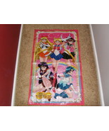 Sailor Moon wall art 23 X 38 - $50.00