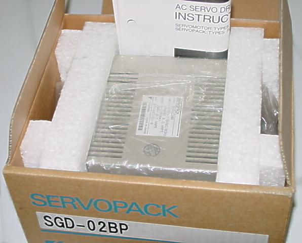 Yaskawa SGD 02BP Servo Drive Amplifier NIB
