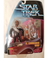 1999 Star Trek Lieutenant Commander Worf Action Figure NEW Playmates Tar... - $20.00