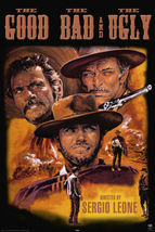 The Good the Bad and the Ugly Movie Poster Clint Eastwood Sergio Leone 2... - $23.00