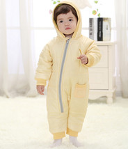 Baby Kid Toddler Boys Girls Winter Padded Onesie Romper Jumpsuit Outfit Snowsuit image 4