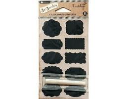 Hampton Art Jar Jewelry Chalkboard Stickers with Chalk #AC0419