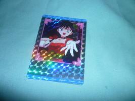 OFFICIAL JAPAN SAILOR MOON  REI PRETTY RED DRESS  VINTAGE HARD PRISM CARD - $18.00