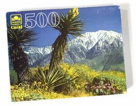 """GOLDEN GUILD """"Mt. San Jacinto"""" 500 Piece Jigsaw Puzzle - New - $15.69"""