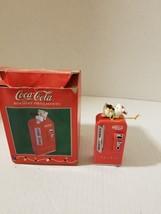 Vintage Enesco Coca-Cola Christmas Holiday Ornament 1997  - $13.86