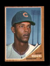 1962 Topps #477 Andre Rodgers Vgex Cubs *XR22133 - $4.00