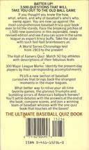 1988 the ultimate baseball quiz book sandy koufax bob feller ty cobb cover image 2