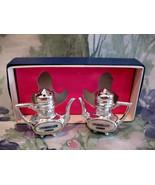 Drumheller Alberta Salt and Pepper Shaker Set Vintage Collector Souvenir... - $9.95