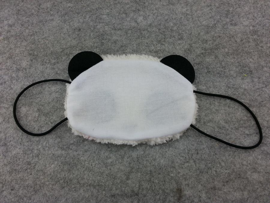 Cute Kawaii Winter Warm Face Mask Anime Animal Soft Plush Panda Half Face Mask 1 image 2