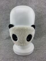 Cute Kawaii Winter Warm Face Mask Anime Animal Soft Plush Panda Half Face Mask 1 image 3