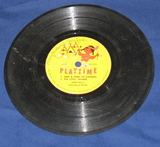 Vintage Playtime Sing a Song Sixpence 10 little indians 33 r - $7.99