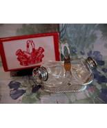 Vintage Basket Salt and Pepper Shakers Set by Leonard Collector Retro Ki... - $14.95