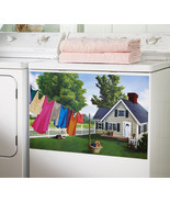 Magnetic Washer Laundry Room Decor - $16.95