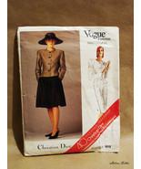 Vintage Vogue Patterns Paris Original for 40th Anniversary of Christian ... - $29.99