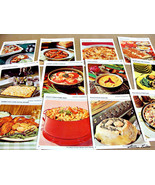 Vintage Betty Crocker Recipe Cards with Colored Photos (1971) - Set of 25 - $6.00