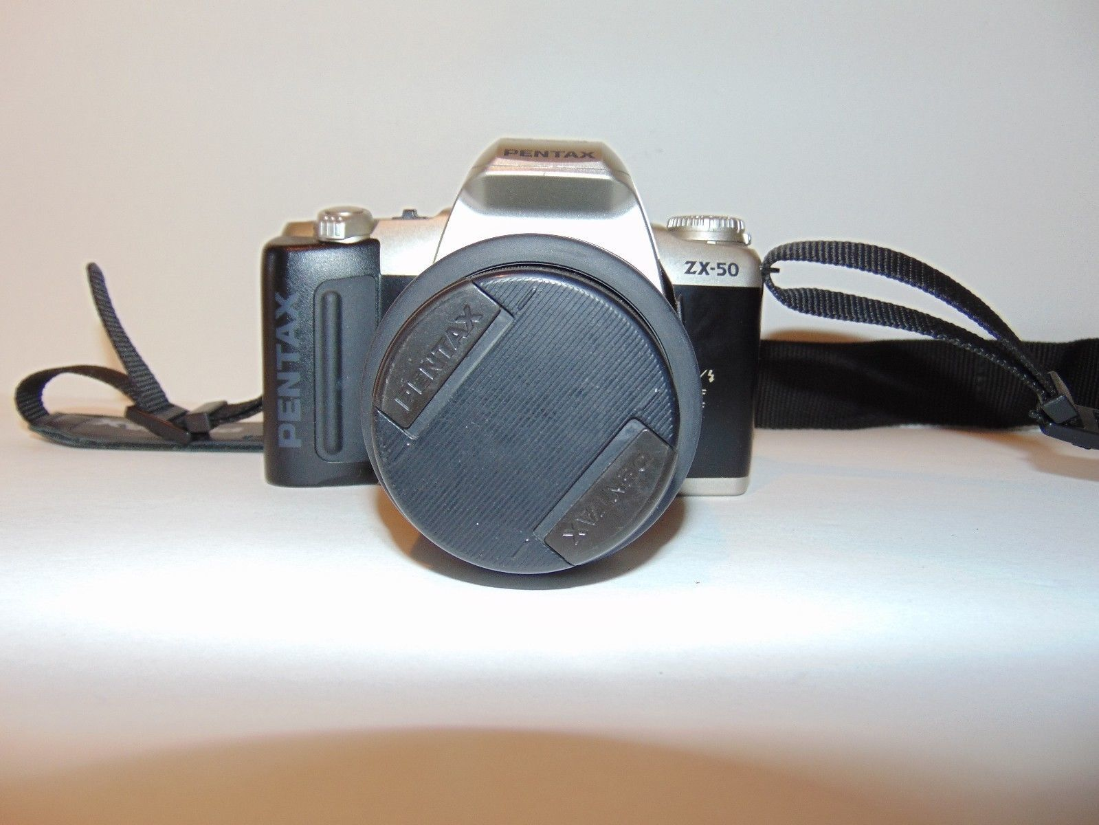 Pentax ZX-50 35mm SLR Film Camera with Pentax-F 35-80mm F4-5.6 Lens