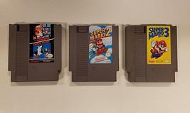 Super Mario Bros. 1,2,3 NES Nintendo Game Complete w/ Cases & Manuals + ... - $92.29