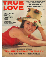TRUE LOVE  August 1961 - TRUE CONFESSIONS STYLE MAGAZINE - BIRTH CONTROL... - $13.99