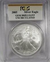 2005 PCGS Gem Brilliant Uncirculated Slabbed A.S.E. Coin AK55 - $43.44