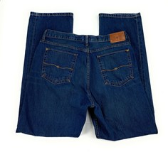 The Territory Ahead Men's Classic Fit 100% Cotton Distressed Blue Jeans ... - $18.84