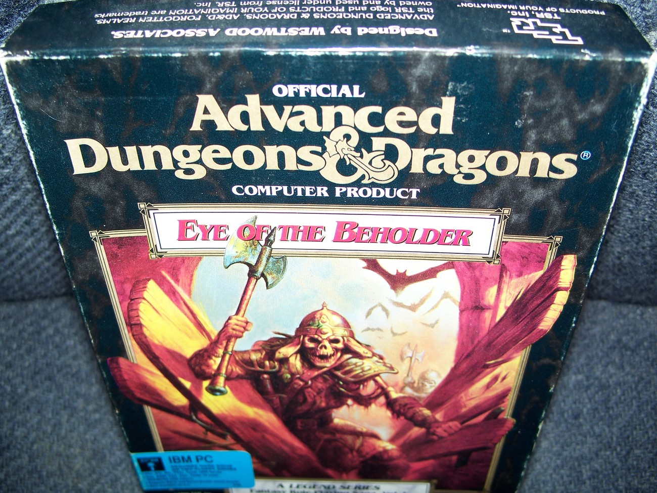 SSI Adv Dungeons & Dragons Eye of the Beholder DOS PC 5.25