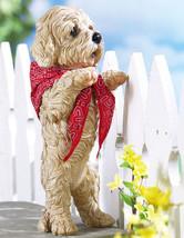 Peeping Puppy Standing Sculpture - $19.95