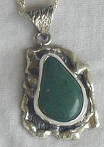 Green pendant HMPC - $45.00