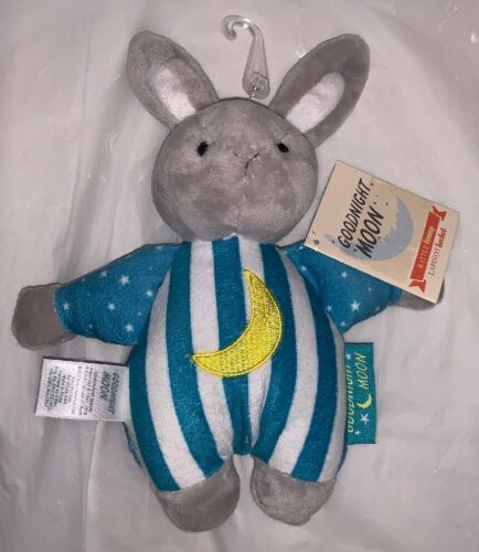"Goodnight Moon Plush Baby Rattle Toy Bunny Rabbit  7"" Long NWT Kids Preferred"