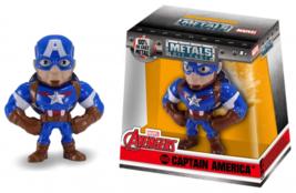 "Avengers Metalfigs Captain America M500 2.5"" Figure Jada Toys - $9.00"