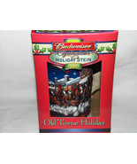 Budweiser Old Town Holiday Clydesdales Holiday Stein Mug 2003 NIB - $8.99