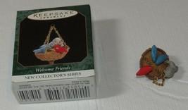 HALLMARK Keepsake Ornament 1996 Welcome Friends New Collectors Series Mi... - $10.68