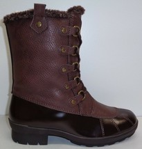 Aerosoles Size 6.5 M BARRICADE Brown Combo Memory Foam Boots New Womens Shoes - $117.81