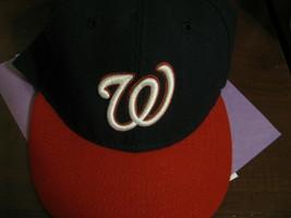 VTG Baseball Cap Washington Nationals MLB New Era 7 1/2 59.6cm - €27,41 EUR