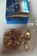 Avon President's Recognition Achievement Pin Honor Society Female 2005-2006 - $12.99