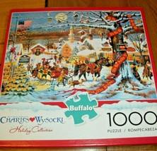 Jigsaw Puzzle 1000 Pieces Cape Cod MA Wysocki Americana Horse Dog Birds ... - $14.84