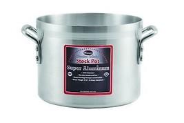Winco USA Super Aluminum Stock Pot, Heavy Weight, 10 Quart, Aluminum - $40.88