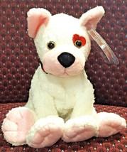 TY BEANIE BABIES 2001 SN 4502 CUPID the VALENTINE'S DAY PUPPY DOG RETIRE... - $11.88