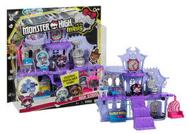 Monster High Monster Minis High School with Exclusive Draculaura Mini Fi... - $19.88