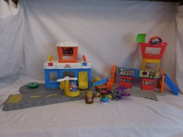 Fisher-Price Little People Discovery Airport + Airplane + Helicopter + Crew - $26.02