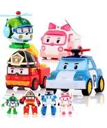 Soldier Robocar Poli Korean Kids Toys Robot  Transformation Anime Action... - $35.99