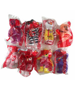Mcdonalds 2004 25th Anniversary Happy Meal Beanie Baby Toy Lot Of 8 New ... - $23.20