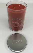 NEW Yankee Candle Sparkling Cinnamon 22 oz Candle 2 Wick Large Tumbler  - $14.84