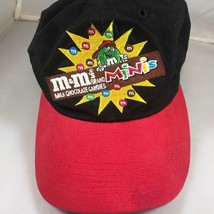 M&M Collectible Vintage 1997 Mini's Adjustable Red & Black Baseball Hat - $13.96
