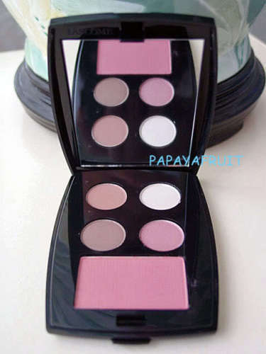 Primary image for Lancome Blush Subtil with Color Design Eyeshadow Quad Compact Palette choose