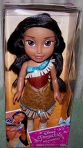 "Disney Aladdin POCAHONTAS Toddler Doll 14""H New - $32.50"