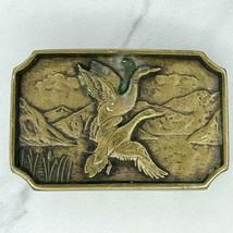 BTS Vintage 1978 Solid Brass Ringneck Pheasant Bird Belt Buckle - $19.34
